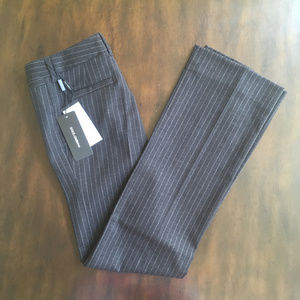 NWT Dolce & Gabbana Pinstripe Wool Trousers 38